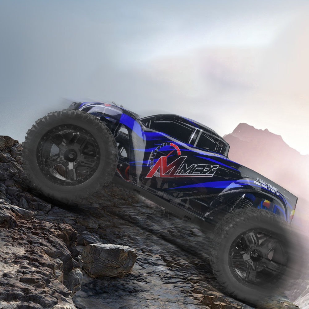 REMO-1035-1-10-Electric-4WD-2-4GHz-RC-Off-road-Car-Brushless-Monster-Truck-RTR miniature 18