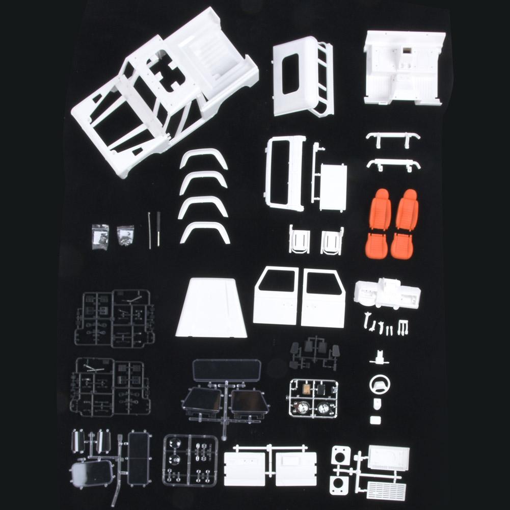 275mm Ruedabase DIY DIY DIY Hard corpo Shell Frame Accessory for D90 1 10 RC Crawler auto 4d9974