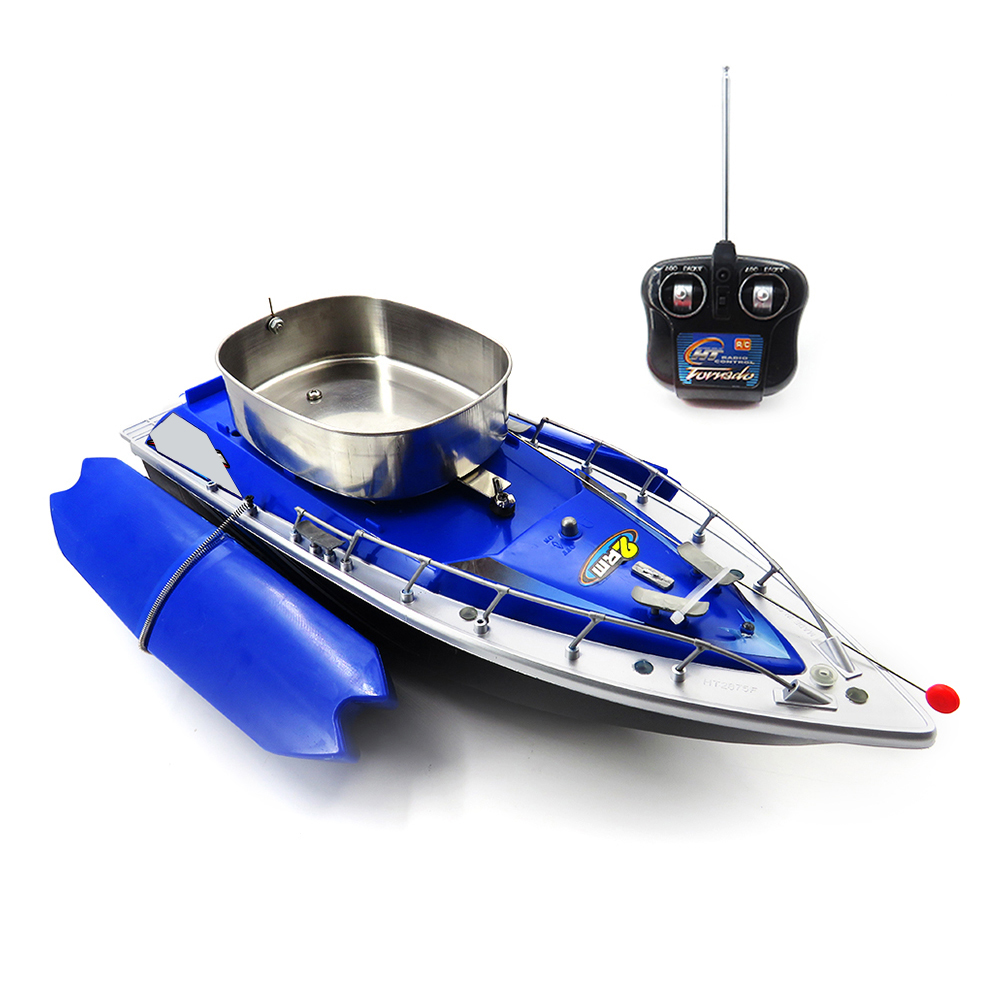 Flytec 2011-3 Fixed Remote Control Feeding Fishing Fishing Fishing Bait Speedboat modello giocattolo daed72