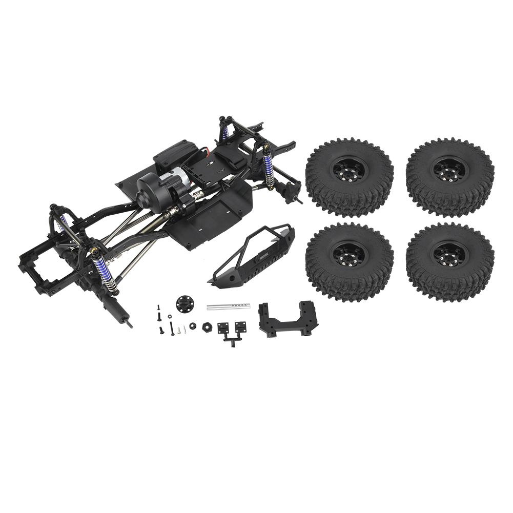313mm INTERASSE montato cornice con 4 ruote per per per 1 10 RC Crawler auto scx10 570b58