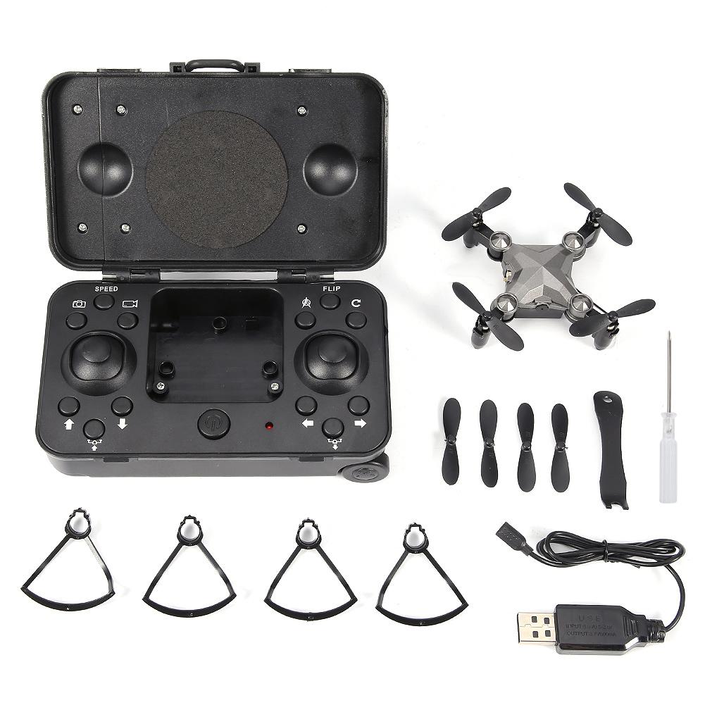 DH-120 2.4G Remote Control Mini Drone Quadcopter WIFI 480P C