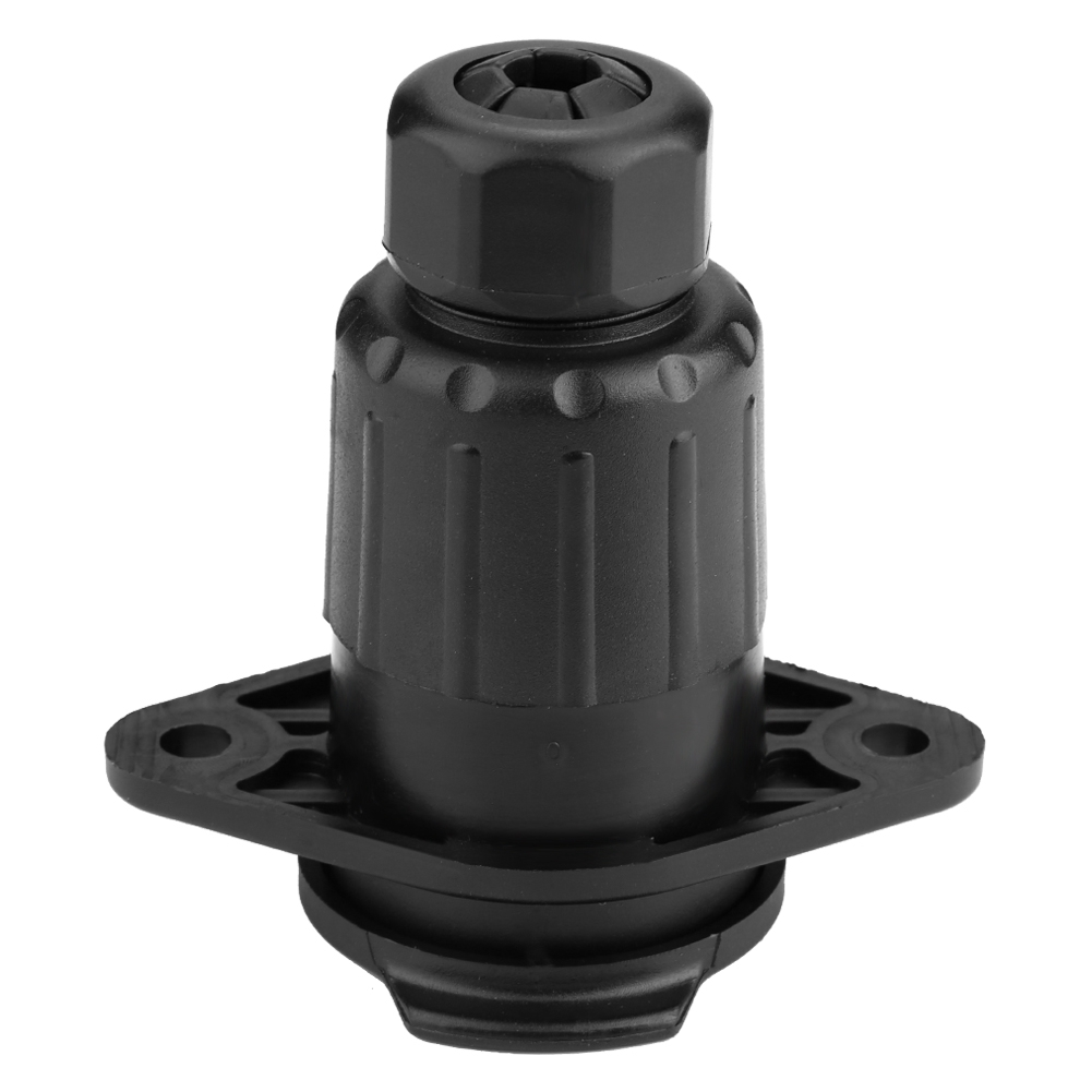 7 Pin Trailer Socket Towing Connector Adapter For Car Semi