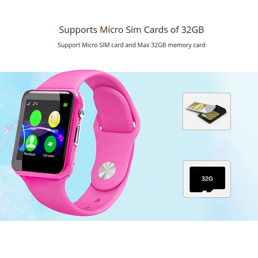 Anti-lost-Children-Kids-Smart-Phone-Watch-Bluetooth-SIM-Camera-for-Android-IOS thumbnail 14