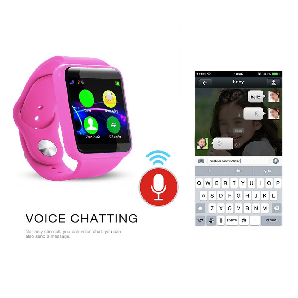 Anti-lost-Children-Kids-Smart-Phone-Watch-Bluetooth-SIM-Camera-for-Android-IOS thumbnail 15