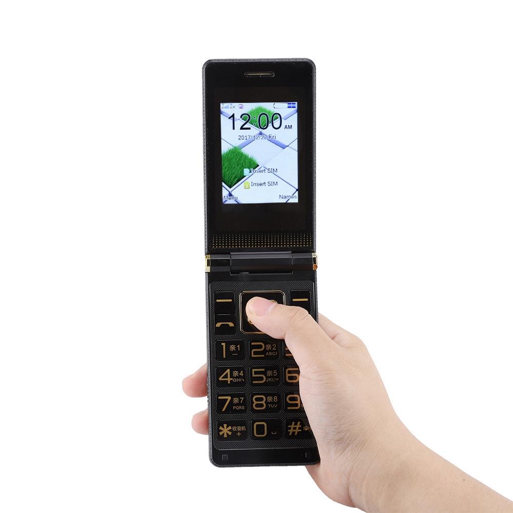 GSM-Mobile-Phone-Unlocked-Touch-Screen-Voice-King-Dual-SIM-Elderly-Man-CellPhone thumbnail 11