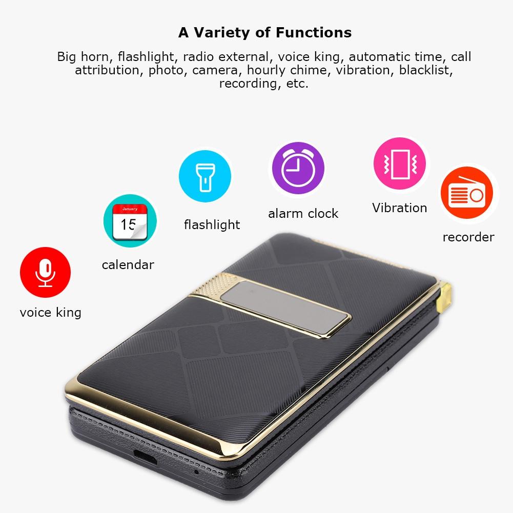 GSM-Mobile-Phone-Unlocked-Touch-Screen-Voice-King-Dual-SIM-Elderly-Man-CellPhone thumbnail 7