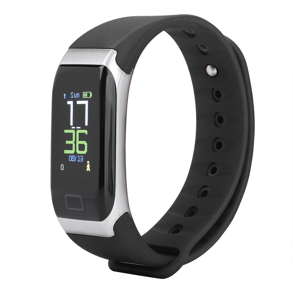 Watch-IP68-Sports-Bracelet-Color-Screen-Heart-Rate-Blood-Pressure-Monitoring thumbnail 12