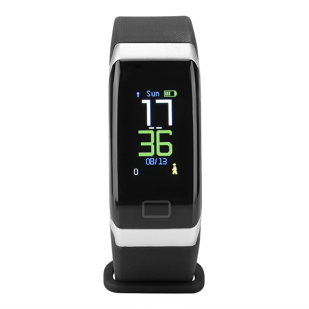 Watch-IP68-Sports-Bracelet-Color-Screen-Heart-Rate-Blood-Pressure-Monitoring thumbnail 13