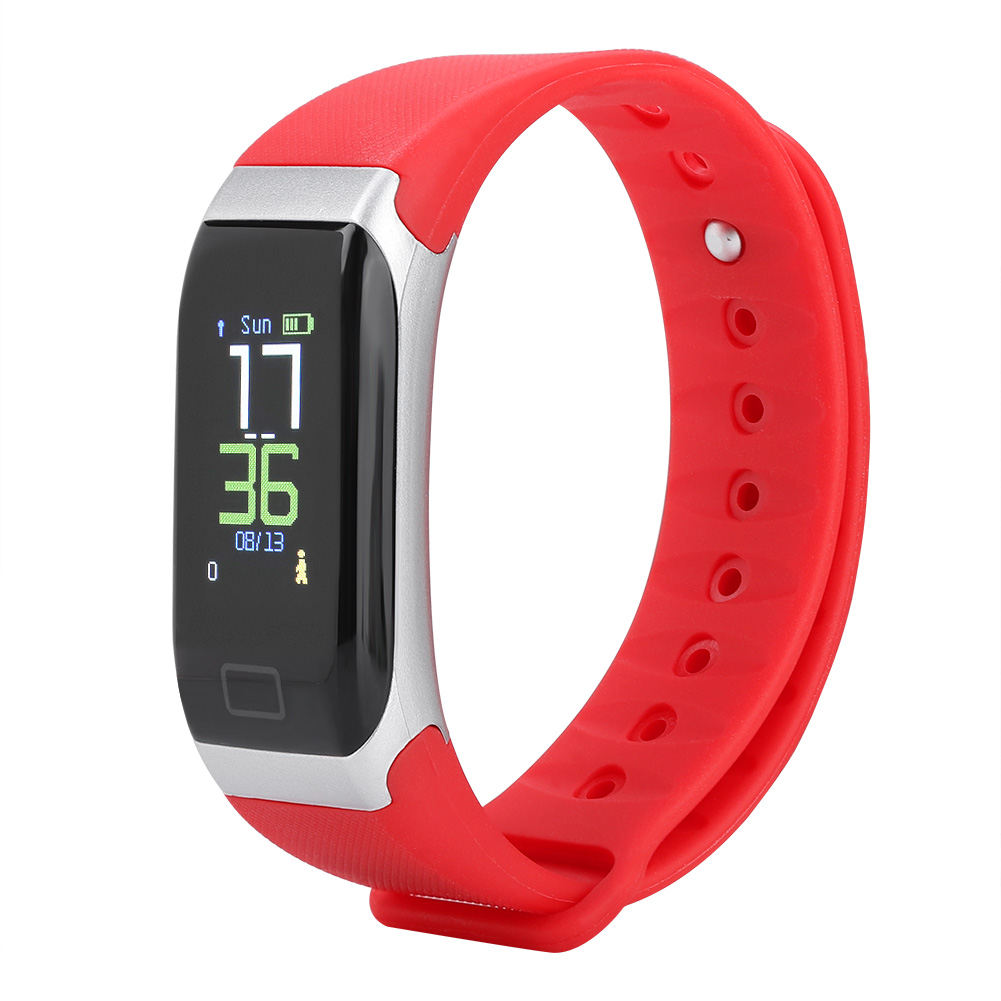 Watch-IP68-Sports-Bracelet-Color-Screen-Heart-Rate-Blood-Pressure-Monitoring thumbnail 16