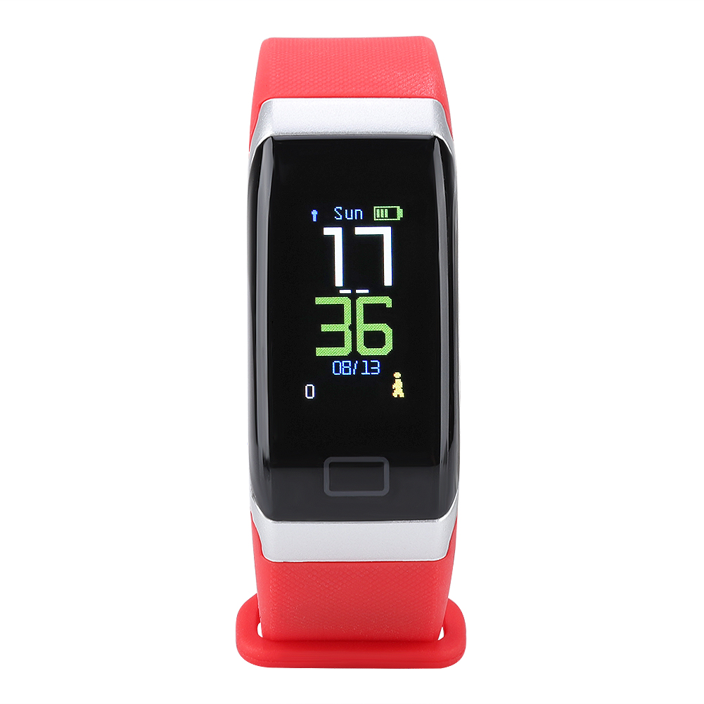 Watch-IP68-Sports-Bracelet-Color-Screen-Heart-Rate-Blood-Pressure-Monitoring thumbnail 17