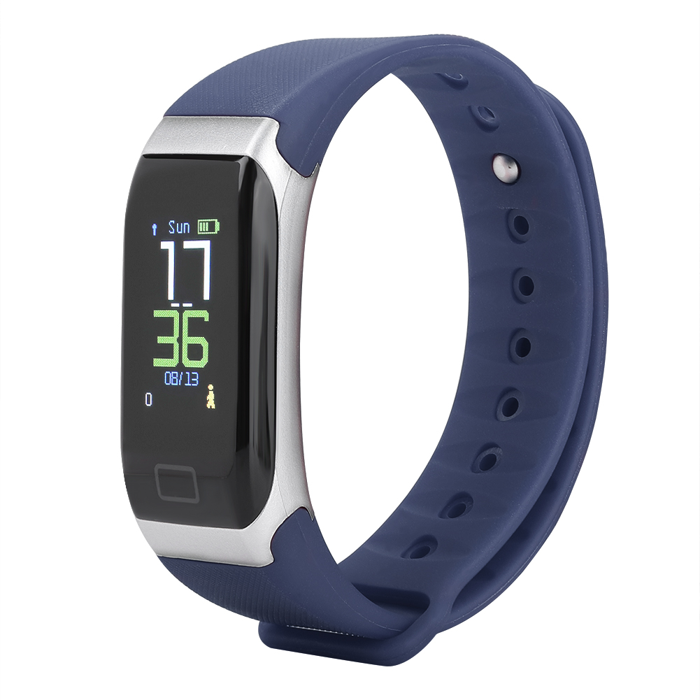 Watch-IP68-Sports-Bracelet-Color-Screen-Heart-Rate-Blood-Pressure-Monitoring thumbnail 20