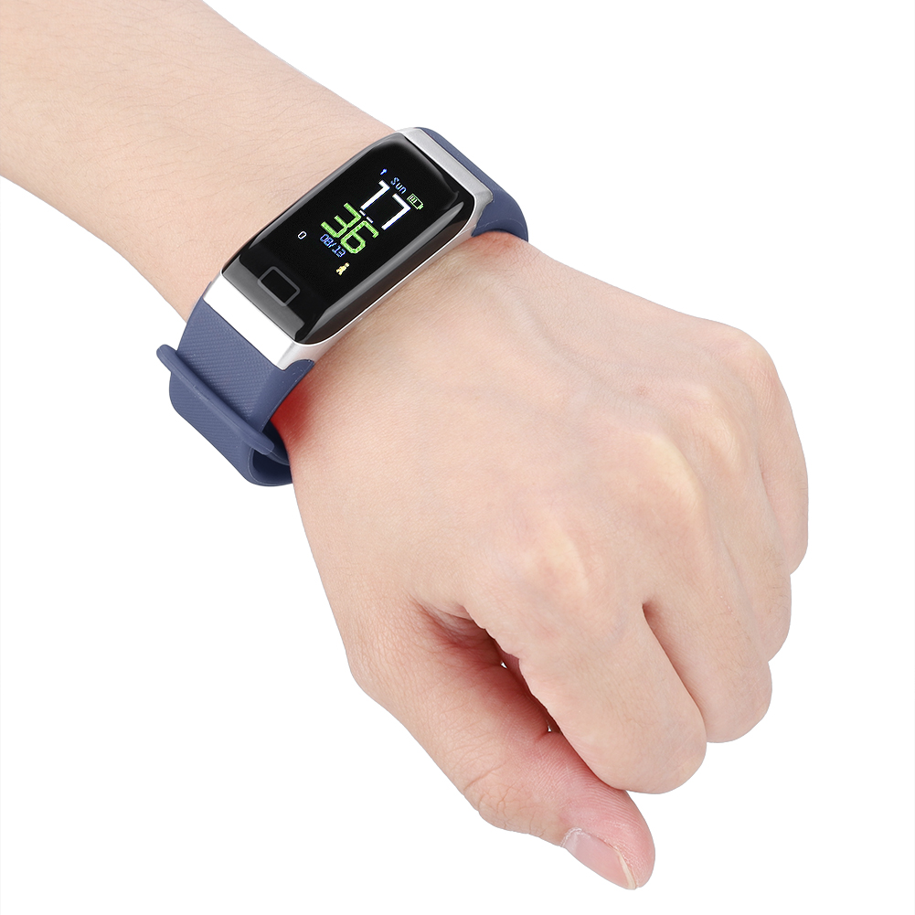 Watch-IP68-Sports-Bracelet-Color-Screen-Heart-Rate-Blood-Pressure-Monitoring thumbnail 22