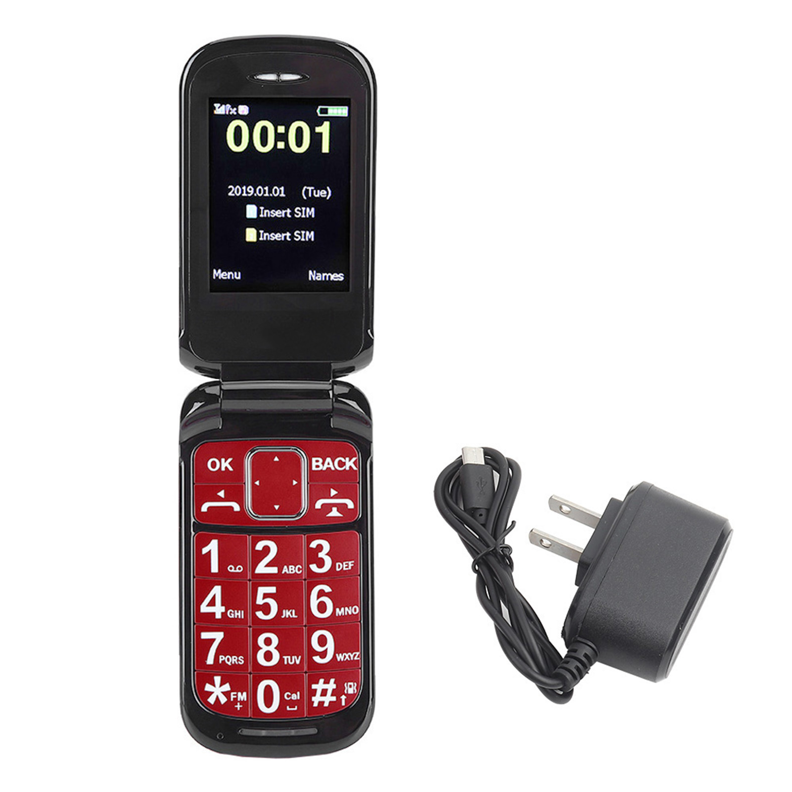 F899Full-Voice-Assistance-Touch-Screen-Flip-Mobile-Phone-2800mAh-Dual-Card-Phone miniature 15