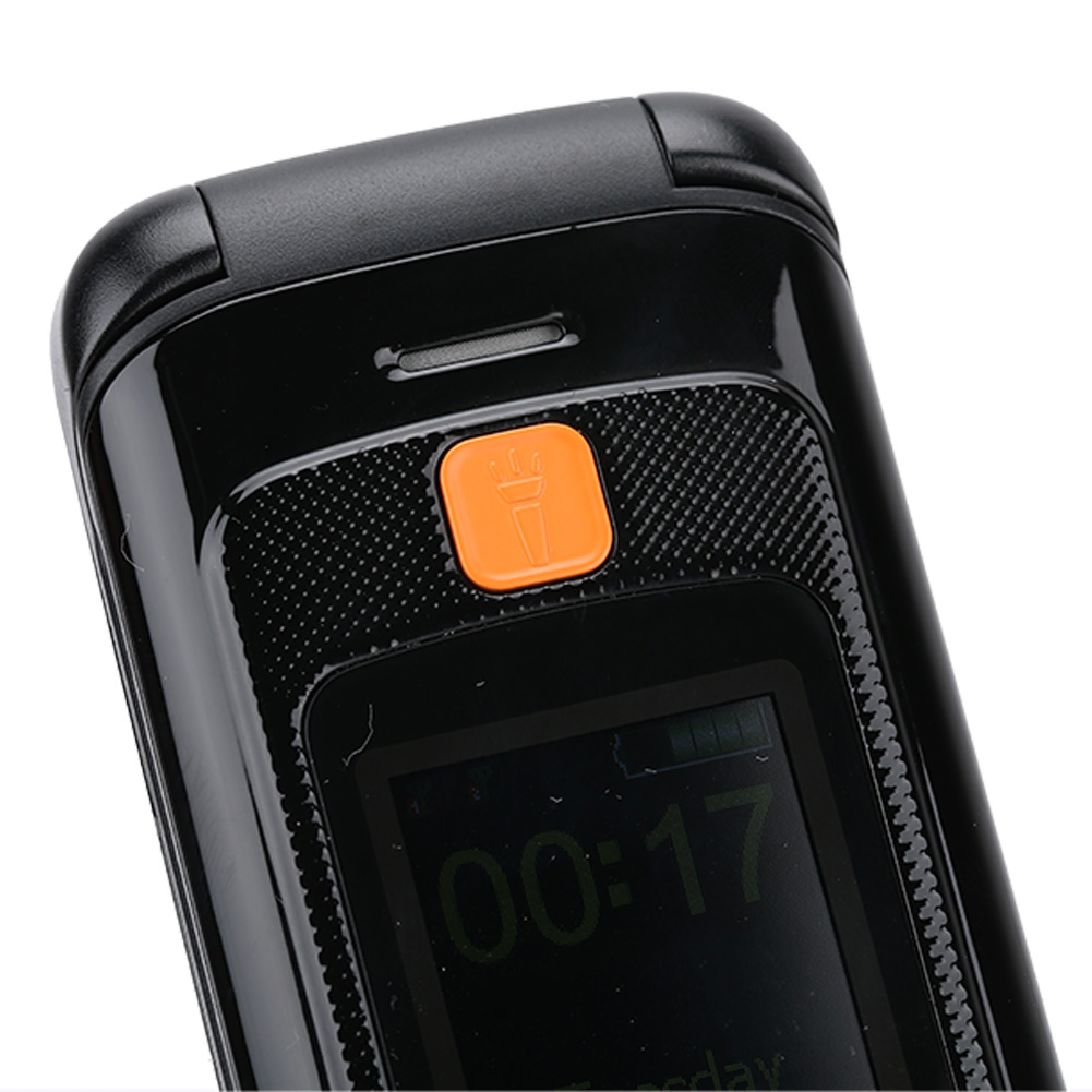 F899Full-Voice-Assistance-Touch-Screen-Flip-Mobile-Phone-2800mAh-Dual-Card-Phone miniature 4