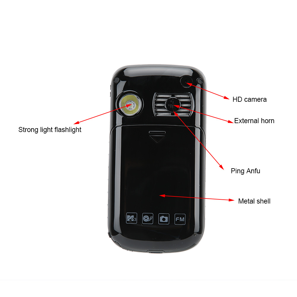 F899Full-Voice-Assistance-Touch-Screen-Flip-Mobile-Phone-2800mAh-Dual-Card-Phone miniature 11