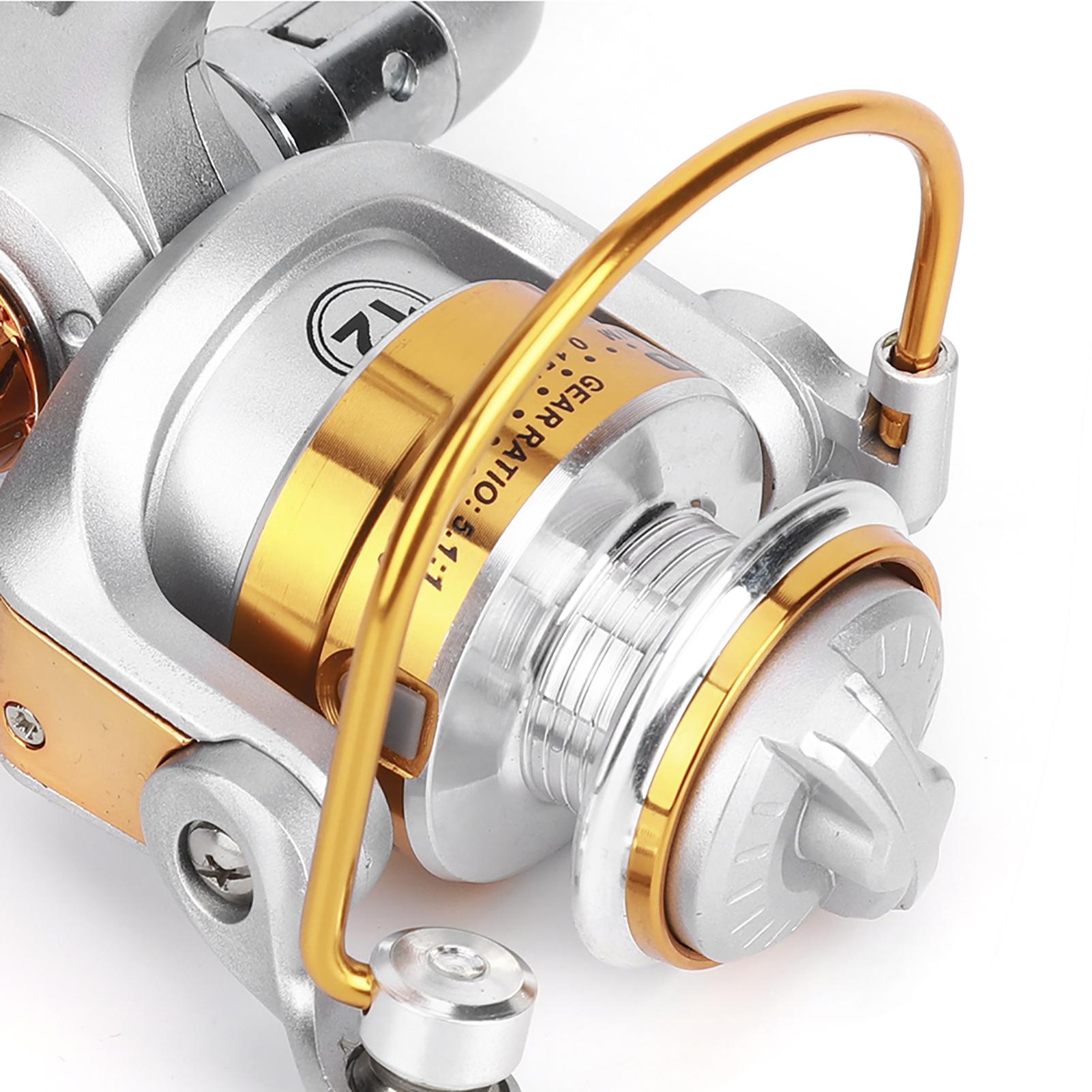 12BB-Ball-Bearing-Saltwater-Freshwater-Fishing-Spinning-Reel-5-5-1-Fish-Tackle thumbnail 10