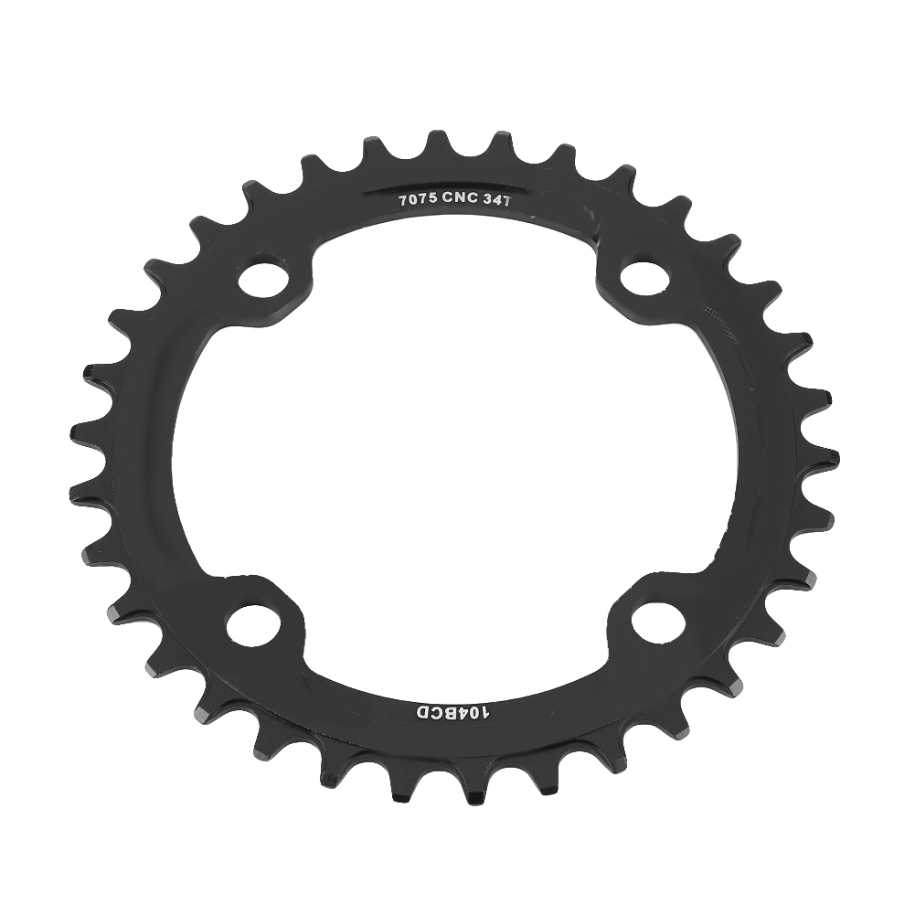 MTB-Bike-Narrow-Wide-Round-Oval-Chainring-Ring-104-130mm-22-32-34-36-38-44-53T thumbnail 46