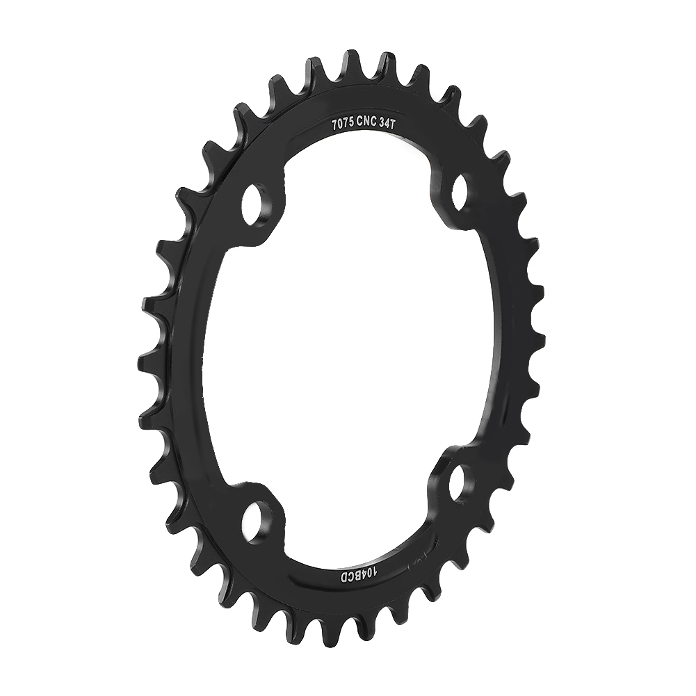 MTB-Bike-Narrow-Wide-Round-Oval-Chainring-Ring-104-130mm-22-32-34-36-38-44-53T thumbnail 47