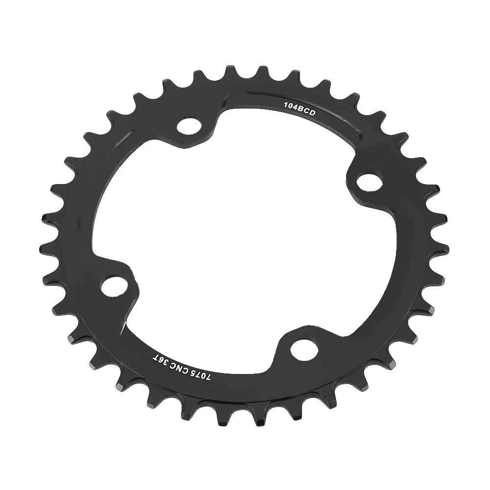 MTB-Bike-Narrow-Wide-Round-Oval-Chainring-Ring-104-130mm-22-32-34-36-38-44-53T thumbnail 49