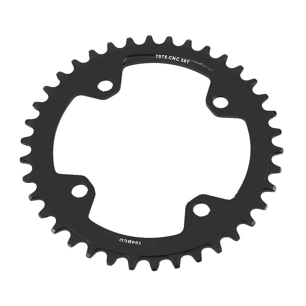 MTB-Bike-Narrow-Wide-Round-Oval-Chainring-Ring-104-130mm-22-32-34-36-38-44-53T thumbnail 53