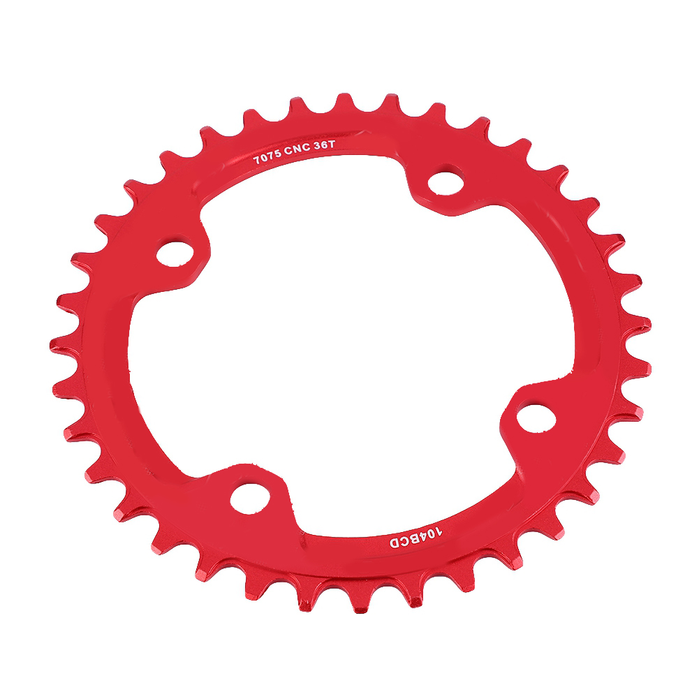 MTB-Bike-Narrow-Wide-Round-Oval-Chainring-Ring-104-130mm-22-32-34-36-38-44-53T thumbnail 62