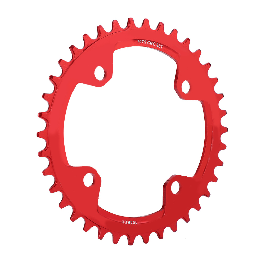 MTB-Bike-Narrow-Wide-Round-Oval-Chainring-Ring-104-130mm-22-32-34-36-38-44-53T thumbnail 64
