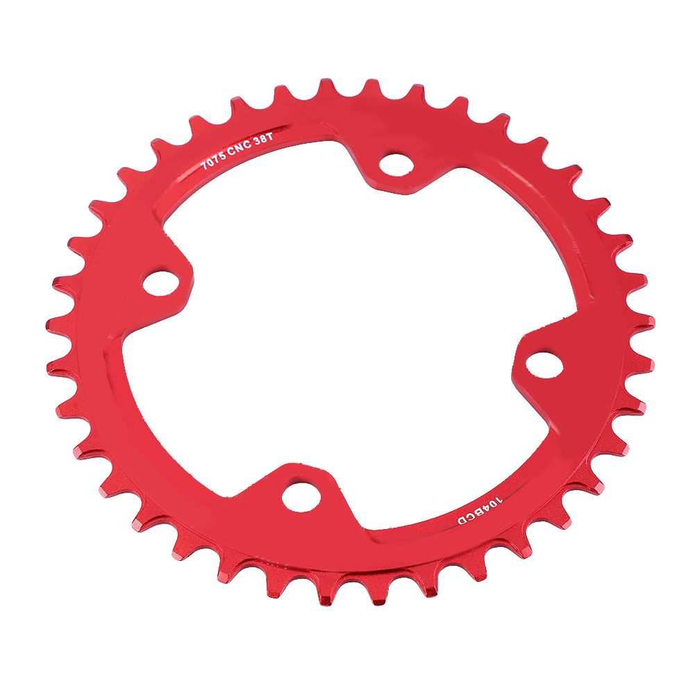 MTB-Bike-Narrow-Wide-Round-Oval-Chainring-Ring-104-130mm-22-32-34-36-38-44-53T thumbnail 65
