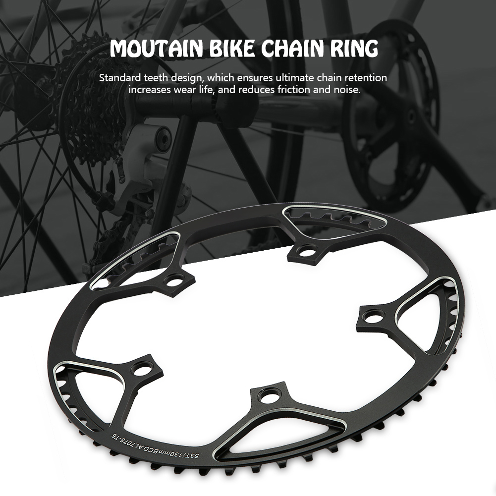 MTB-Bike-Narrow-Wide-Round-Oval-Chainring-Ring-104-130mm-22-32-34-36-38-44-53T thumbnail 37