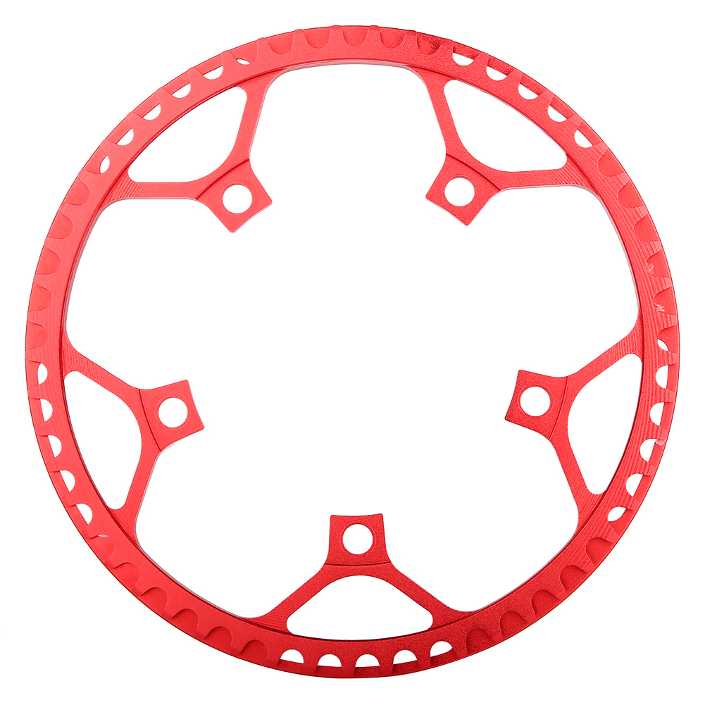 MTB-Bike-Narrow-Wide-Round-Oval-Chainring-Ring-104-130mm-22-32-34-36-38-44-53T thumbnail 41