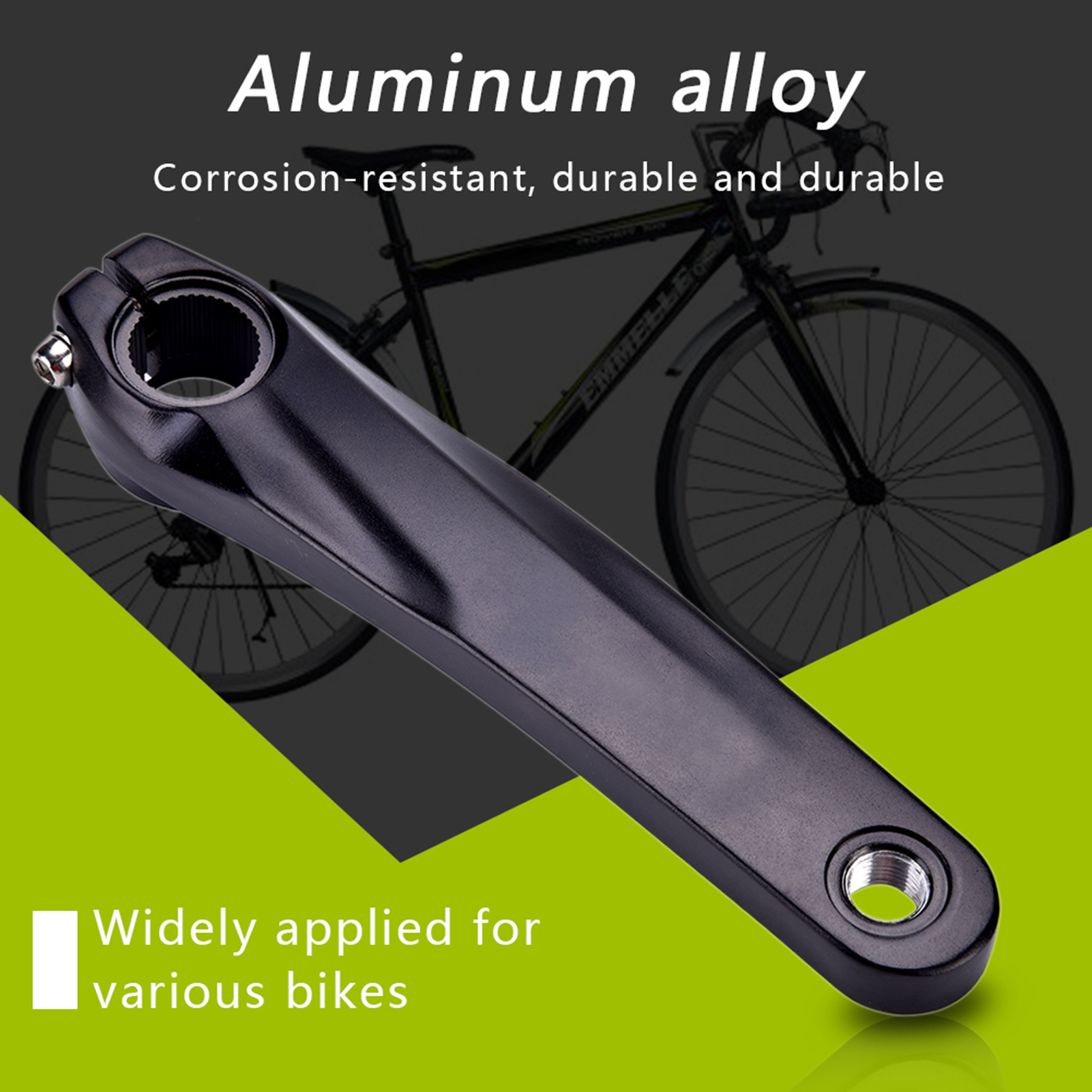 170MM MTB Road Bike Bicycle Cycling Alloy Left Crank Set Arm Wheel For Shimano