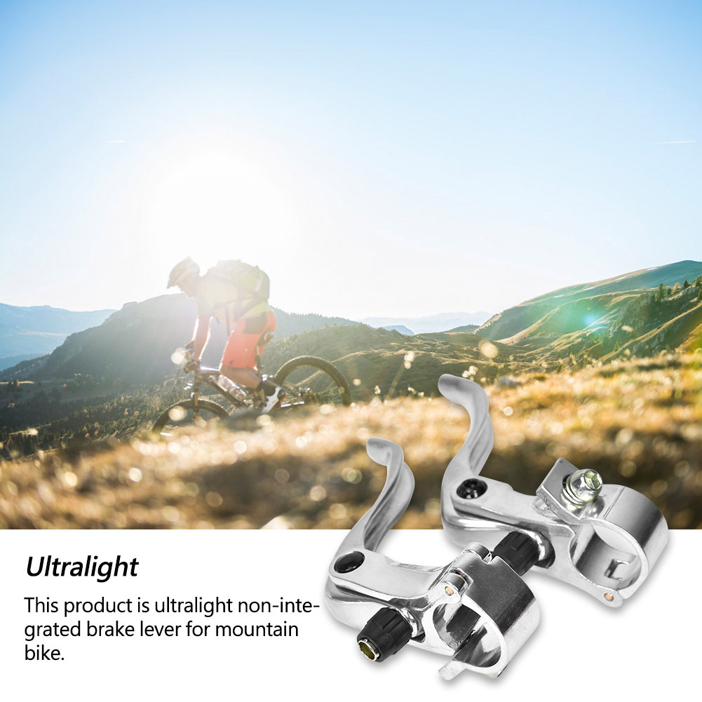 1Pair-Aluminum-Road-Mountain-Bike-Bicycle-V-Brake-Lever-Levers-22-22-2-24mm-CO