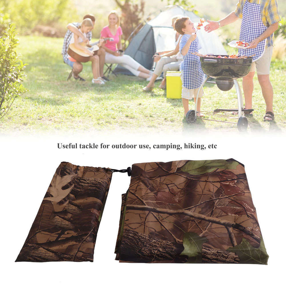 Practical-Tarp-Army-Ultralight-Sun-Shelter-Tent-Hiking-Camping-Rain-Cover-Room thumbnail 13