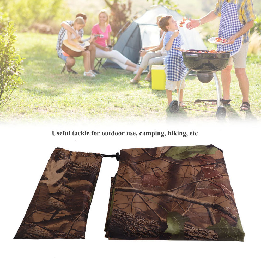Practical-Tarp-Army-Ultralight-Sun-Shelter-Tent-Hiking-Camping-Rain-Cover-Room thumbnail 16