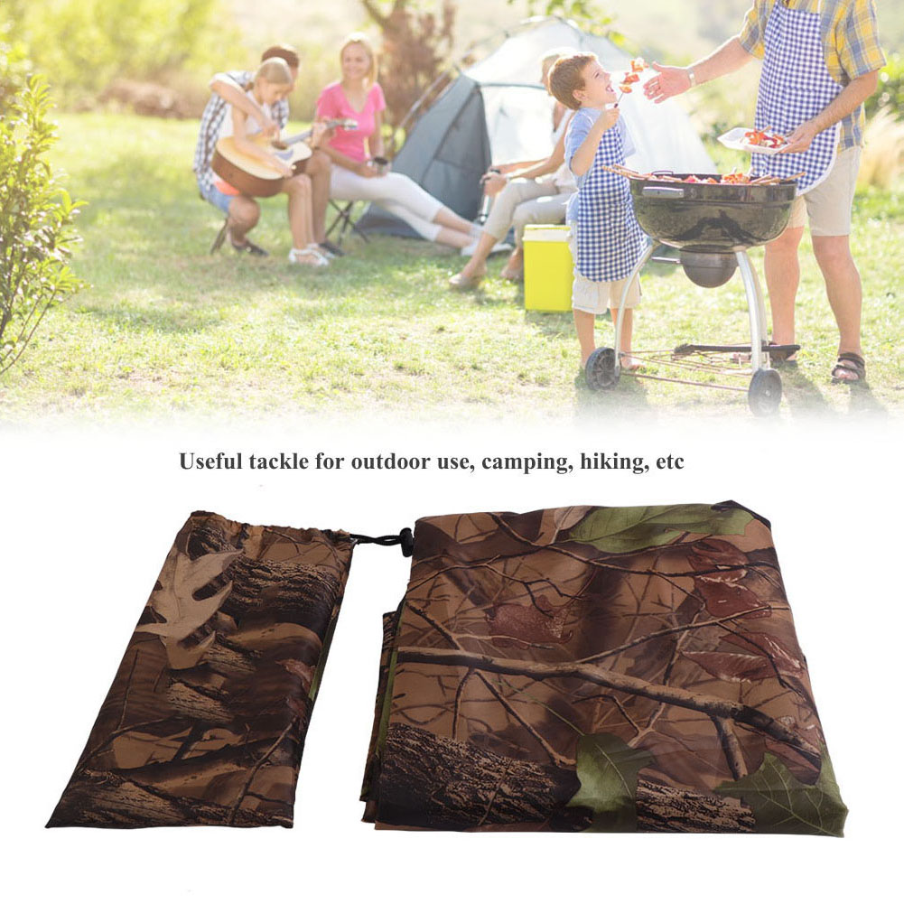 Practical-Tarp-Army-Ultralight-Sun-Shelter-Tent-Hiking-Camping-Rain-Cover-Room thumbnail 19