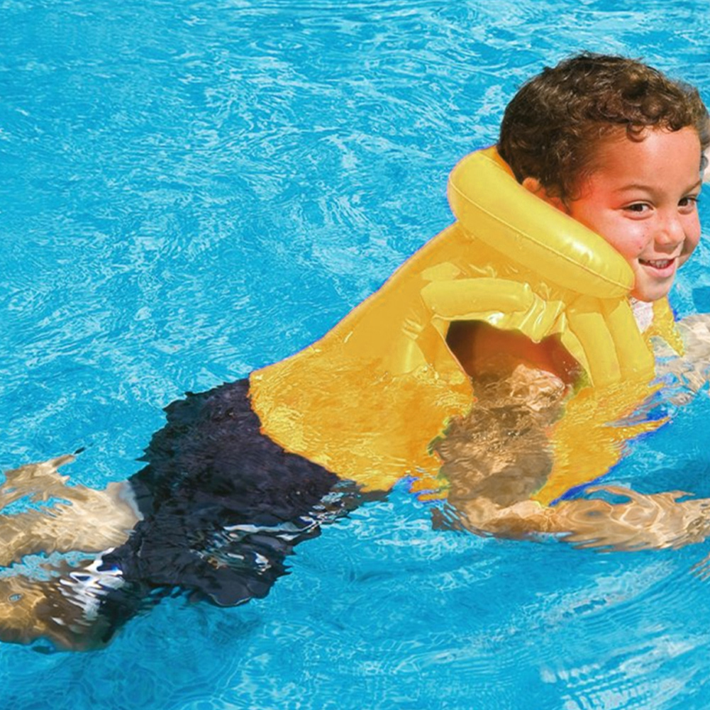 Children-Kids-Inflatable-Floating-Life-Swim-Vest-Swimming-Pool-Safety-Jacket-SP thumbnail 17