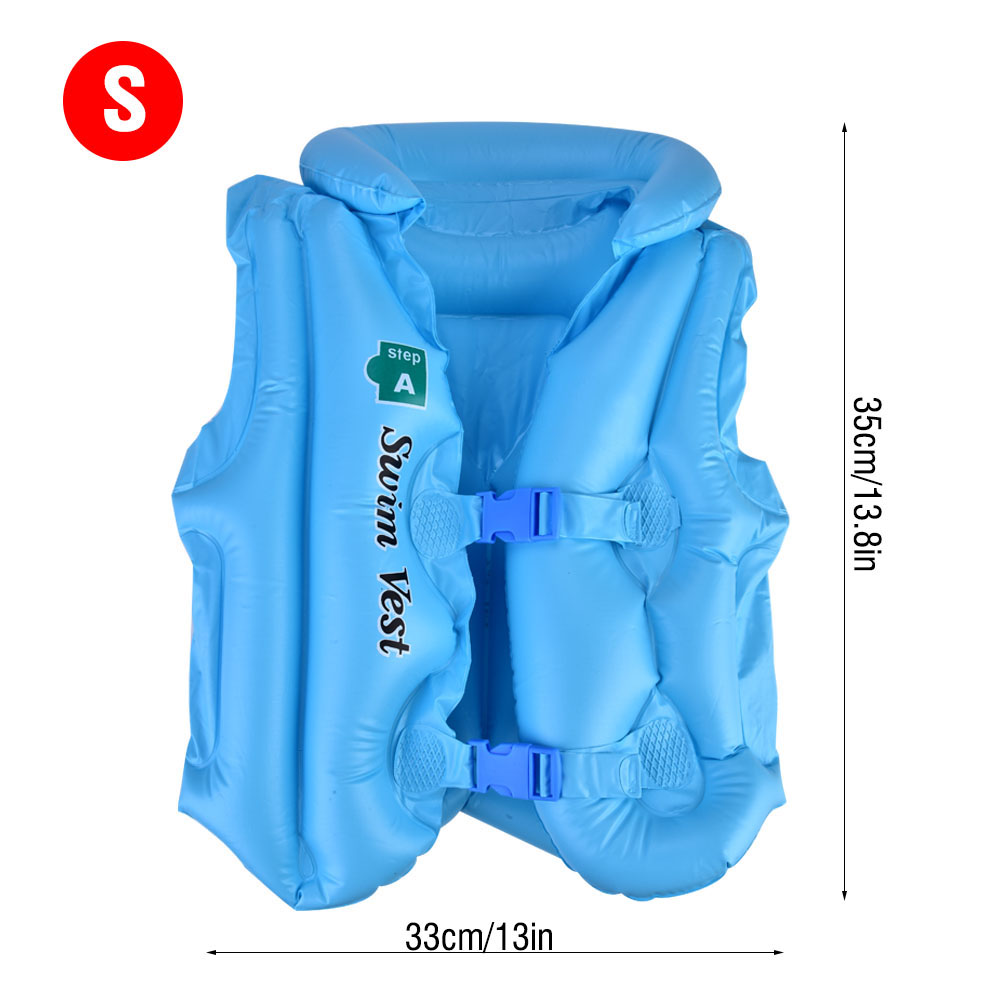 Children-Kids-Inflatable-Floating-Life-Swim-Vest-Swimming-Pool-Safety-Jacket-SP thumbnail 21
