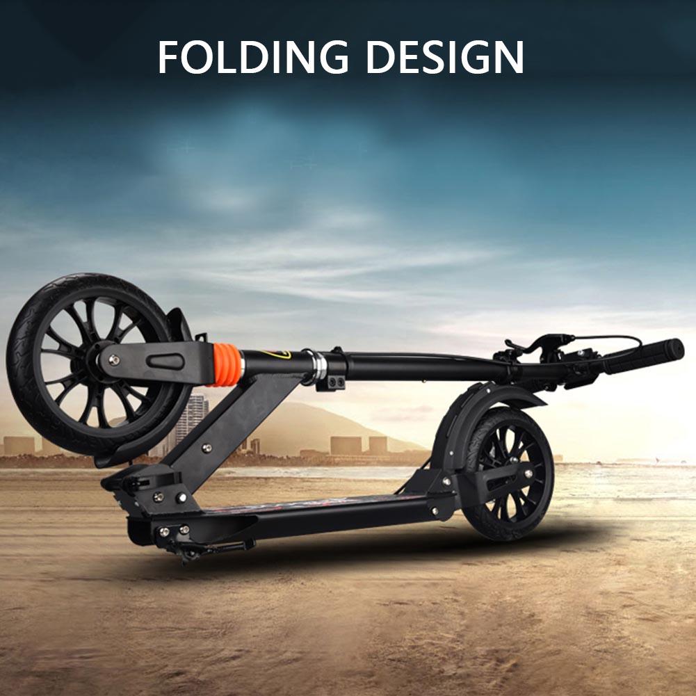 New-Folding-200mm-Big-Wheels-Suspension-Adult-Shock-absorbing-Scooter-Disc-Brake thumbnail 24