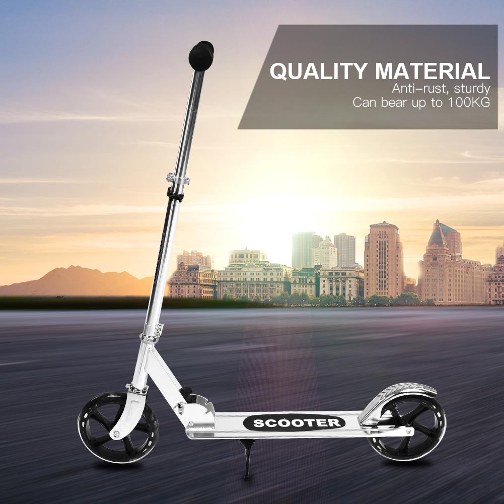 New-Folding-200mm-Big-Wheels-Suspension-Adult-Shock-absorbing-Scooter-Disc-Brake thumbnail 14