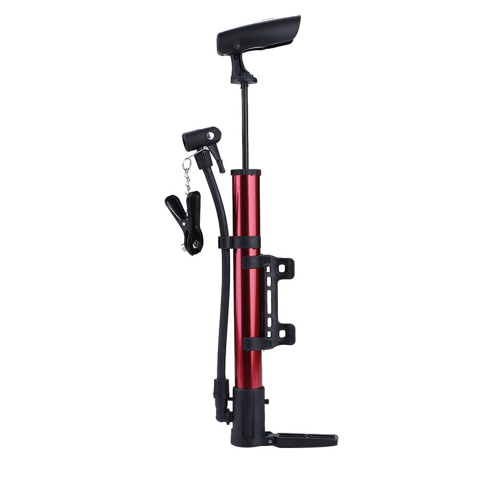 Mini-Bicycle-Pump-Portable-Hand-Pressure-Air-Tire-Inflator-Mountain-Bike-Cycling miniature 15