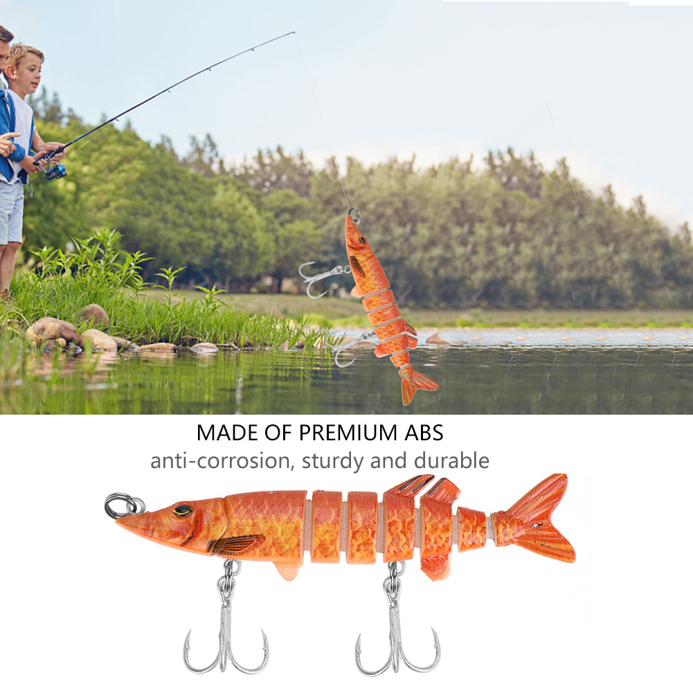 New-Minnow-Fishing-Lures-Crank-Bait-Hooks-Bass-Crankbaits-Tackle-Sinking-Popper thumbnail 20