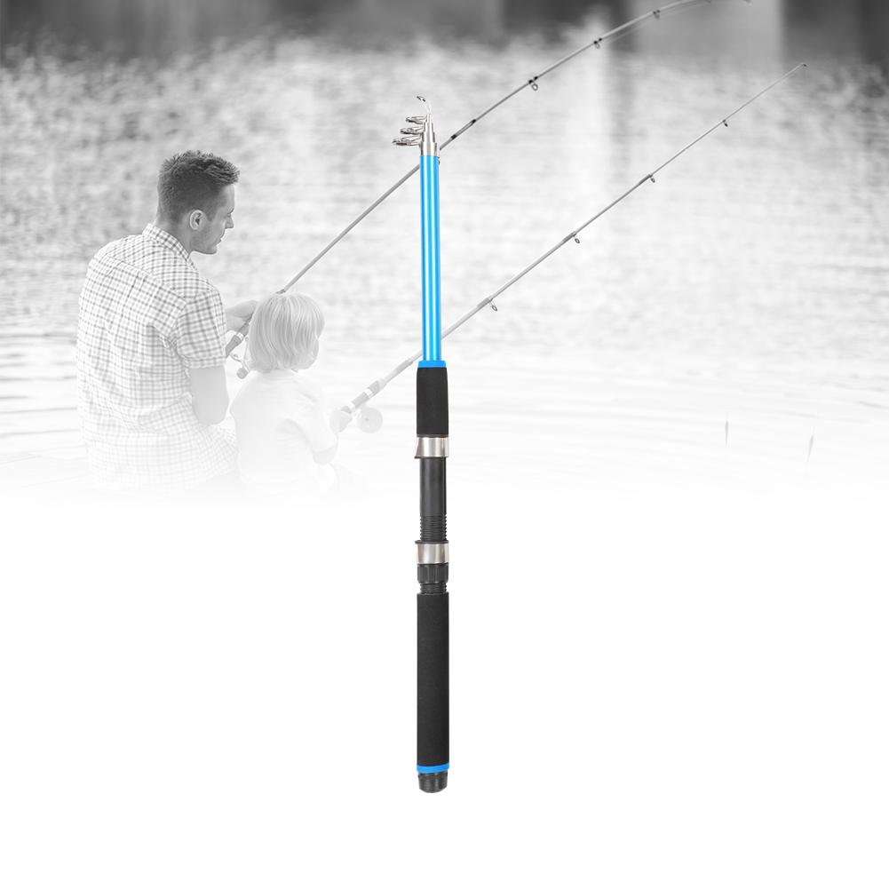 Outdoor-Mini-Glass-Fiber-Telescopic-Fishing-Pole-Ultra-light-Fishing-Rod-Durable thumbnail 10