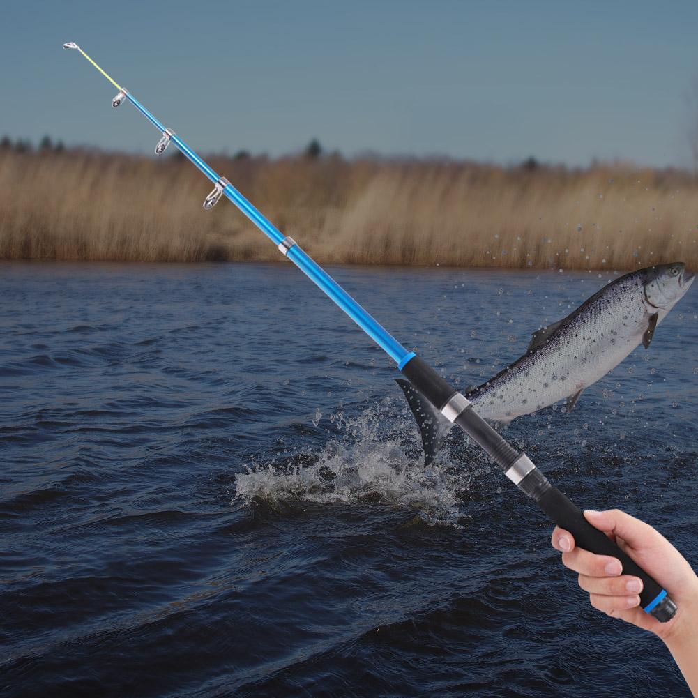 Outdoor-Mini-Glass-Fiber-Telescopic-Fishing-Pole-Ultra-light-Fishing-Rod-Durable thumbnail 11