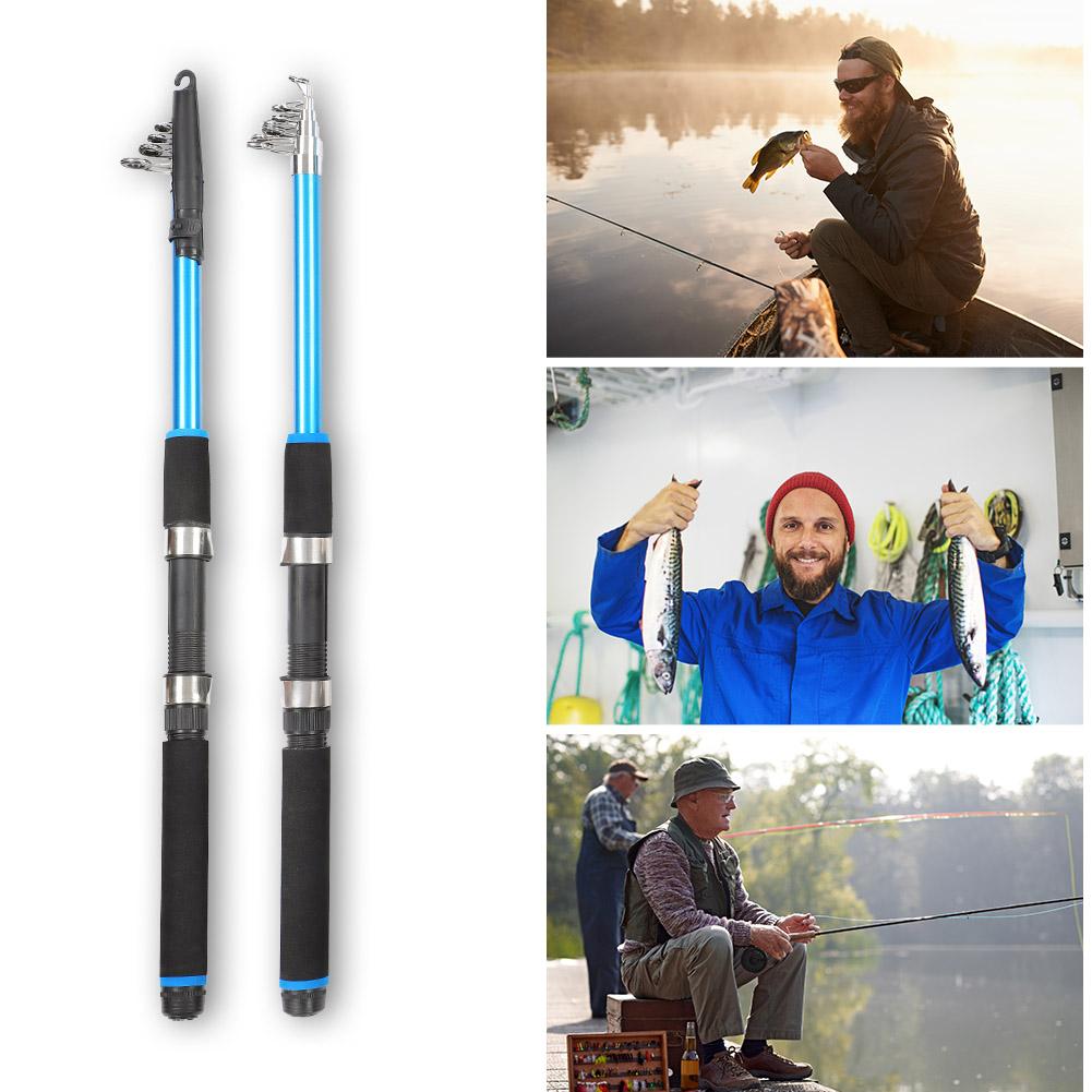 Outdoor-Mini-Glass-Fiber-Telescopic-Fishing-Pole-Ultra-light-Fishing-Rod-Durable thumbnail 13