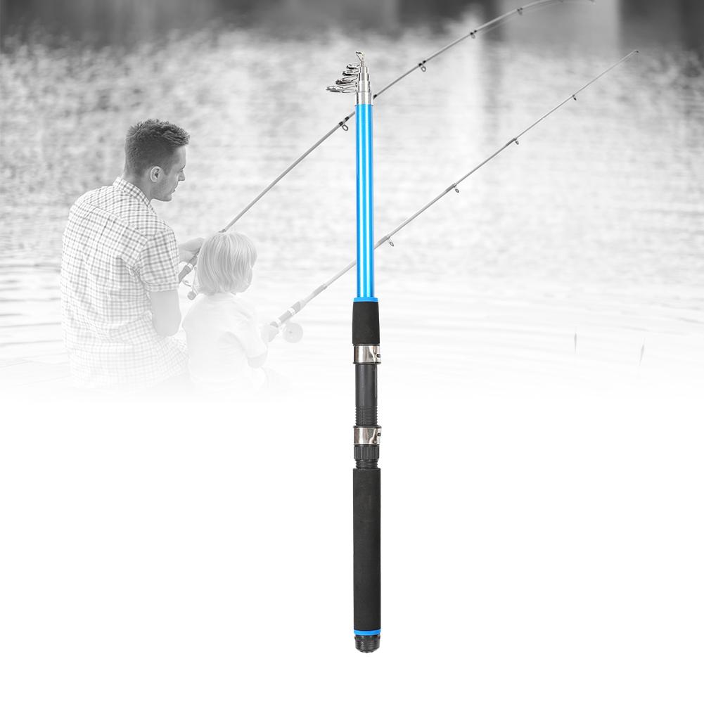 Outdoor-Mini-Glass-Fiber-Telescopic-Fishing-Pole-Ultra-light-Fishing-Rod-Durable thumbnail 17