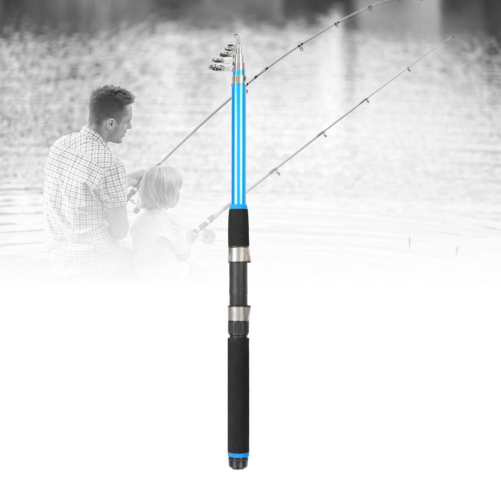 Outdoor-Mini-Glass-Fiber-Telescopic-Fishing-Pole-Ultra-light-Fishing-Rod-Durable thumbnail 19