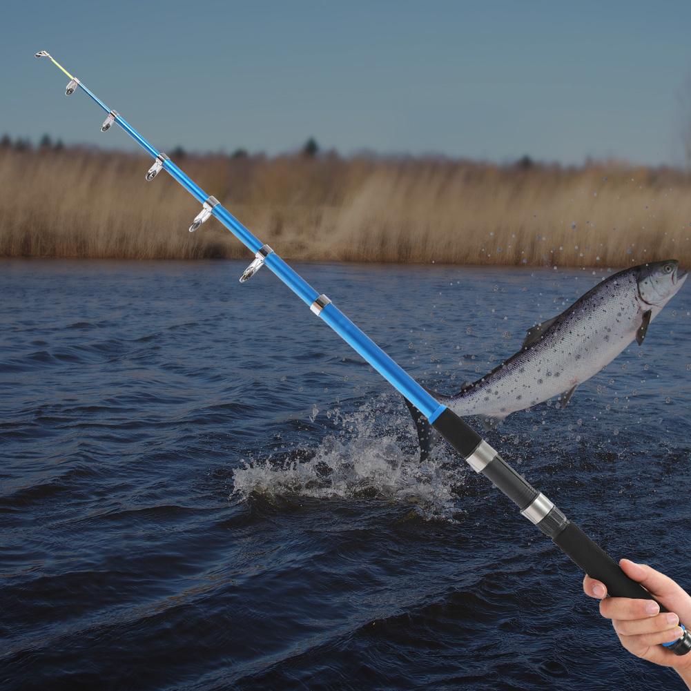 Outdoor-Mini-Glass-Fiber-Telescopic-Fishing-Pole-Ultra-light-Fishing-Rod-Durable thumbnail 20