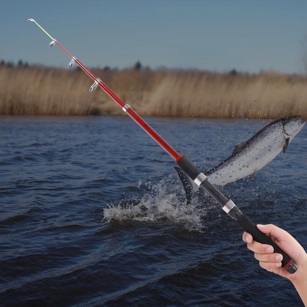 Outdoor-Mini-Glass-Fiber-Telescopic-Fishing-Pole-Ultra-light-Fishing-Rod-Durable thumbnail 29