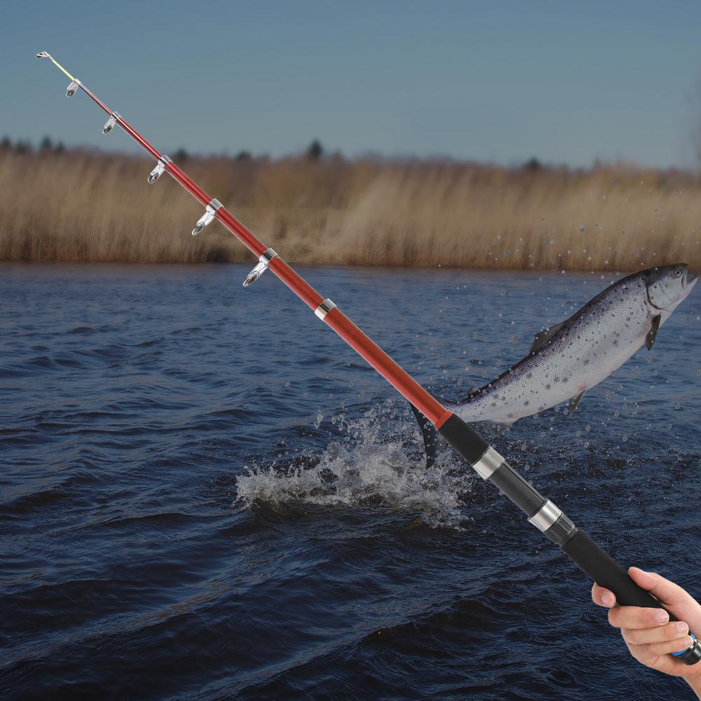 Outdoor-Mini-Glass-Fiber-Telescopic-Fishing-Pole-Ultra-light-Fishing-Rod-Durable thumbnail 35