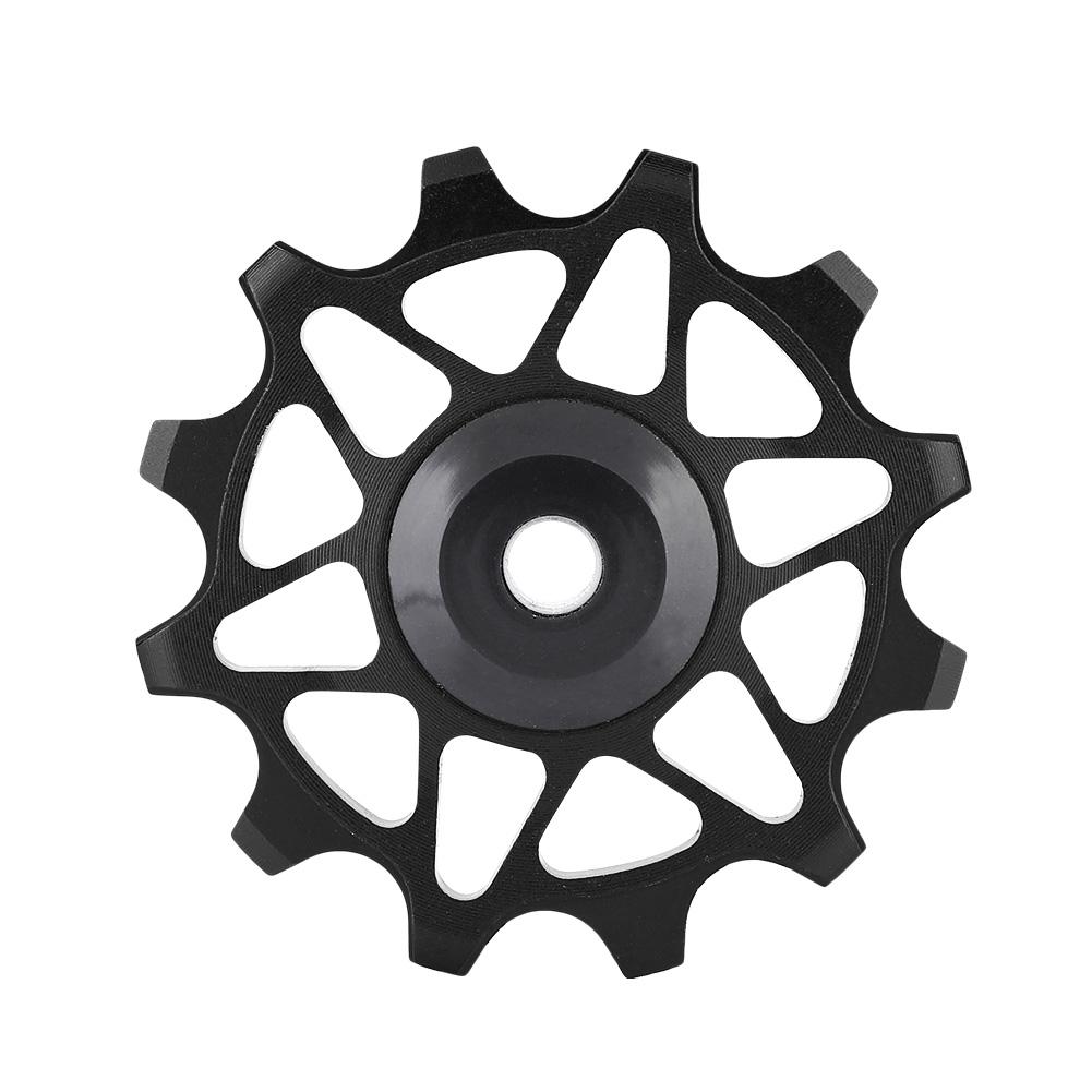 12T-Bike-Rear-Derailleur-Solid-Pulley-Bearing-Jockey-Wheel-for-8-9-10-11-Speed thumbnail 12
