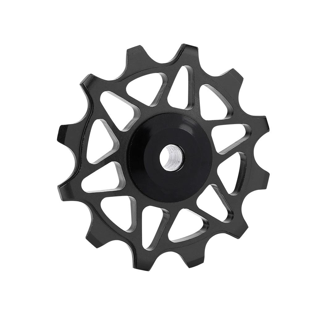 12T-Bike-Rear-Derailleur-Solid-Pulley-Bearing-Jockey-Wheel-for-8-9-10-11-Speed thumbnail 13